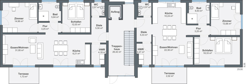 weberhaus mehrfamilienhaus kehl. Black Bedroom Furniture Sets. Home Design Ideas