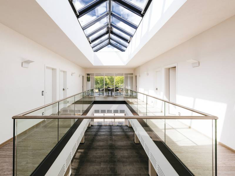 weberhaus verwaltung und schulungszentrum prowin. Black Bedroom Furniture Sets. Home Design Ideas
